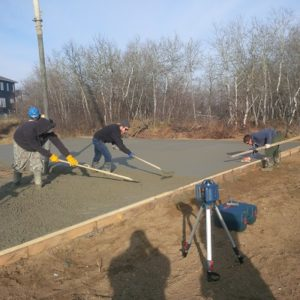 Saskatoon shop construction